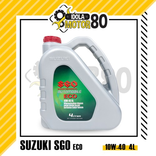 Jual Oli Sgo Suzuki Genuine Oil Sae 10w 40 Galon 4 Liter Kota Bekasi Idola Motor Bekasi Tokopedia