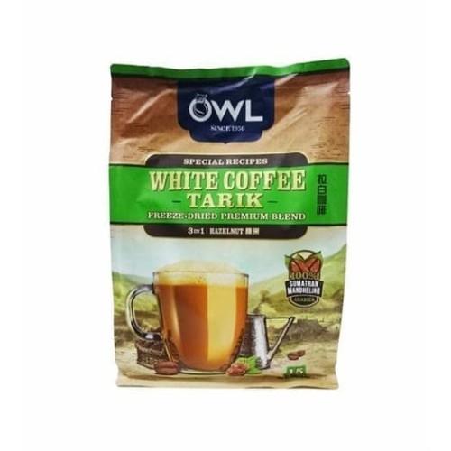 Foto Produk OWL WHITE COFFEE TARIK 3 IN 1 (Sachet) HAZELNUT dari foodsupply.co
