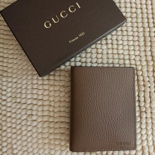 Foto Produk Gucci Men Wallet Brown. Dompet Gucci Original Men Brown dari Laristie