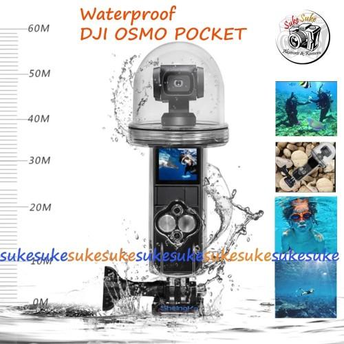 Foto Produk Waterproof Underwater Diving Case Housing for DJI OSMO Pocket 60M dari SukeSuke90
