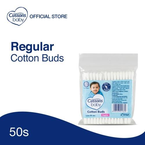 Foto Produk Cussons Baby Cotton Buds 50's Reguler dari Cussons Official Store