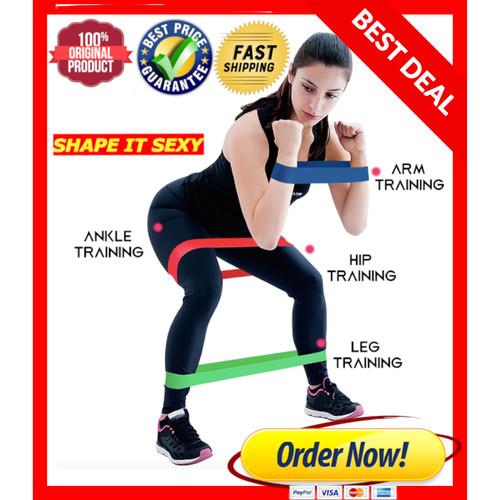 Foto Produk LATEX Tension Resistance Band Loop Karet Elastis Olahraga Gym fitness dari DickyKim
