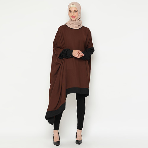 Foto Produk Heaven Sent - Tunik Muslim Terbaru Qania Brown dari Heaven Sent Official