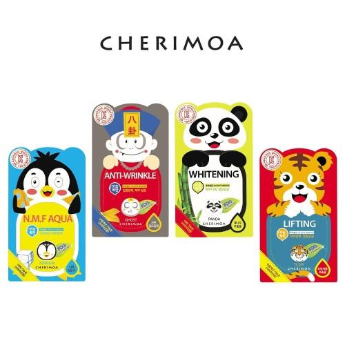 Foto Produk CHERIMOA Character Mask Pack - Face Mask - Masker Wajah - Panda dari JiwooNe Beauty