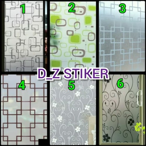Foto Produk STIKER KACA / STICKER KACA/SUNBLAST MOTIF ARTISTIK dari D_Z Artistik