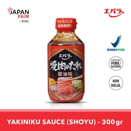 Foto Produk Saus Ebara Yakiniku no Tare: Shoyu 300 Gr - Saus Bumbu Yakiniku BBQ dari Jetro Official