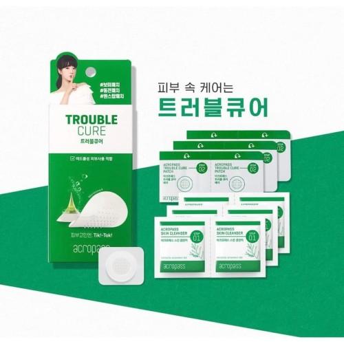 Foto Produk Acropass Trouble Cure Microneedle Pimple Patch 6 patch 6 swab dari onnie market