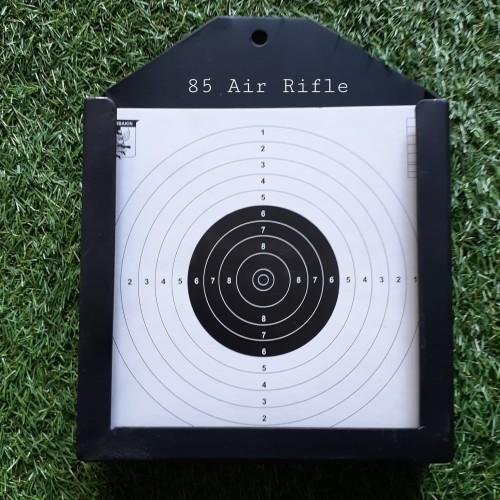 Foto Produk Target Sasaran Tembak Bahan Dari Plat Besi Kuat 17x17cm dari Senapan Angin Cipacing