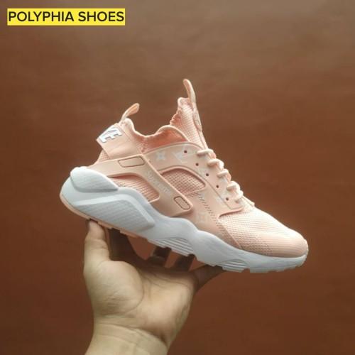 Jual Nike Huarache Pink Premium Original / Sepatu Putih Cewe Wanita - Kab. Tangerang - Polyphia   Tokopedia