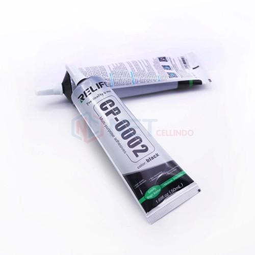 Foto Produk TOOL LEM LCD TOUCHSCREEN / LEM JELLY RELIFE CP-0002 BLACK 50ML dari NET Cellindo