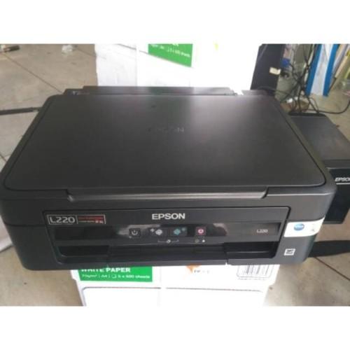 Jual Printer Epson L220 Kebayoran Baru Toko Della Zc Tokopedia