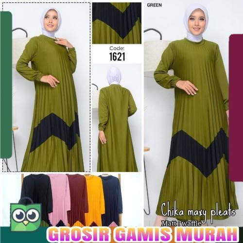 Jual Gamis Plisket Terbaru Dua Warna Gamis Syari Dress Muslim Baju Wanita Hitam Kab Kudus Grosirgamis Murah Tokopedia