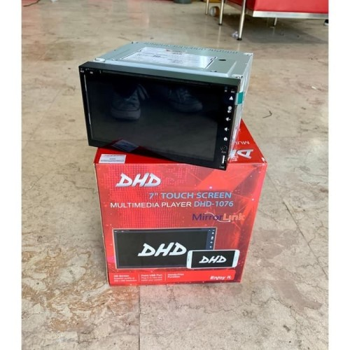 Foto Produk DHD DOUBLE DIN TV 1076 DVD dari Playoff Store