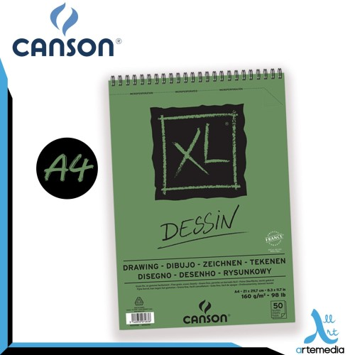 Foto Produk Canson A4 XL Drawing Paper Pad dari Artemedia Shop