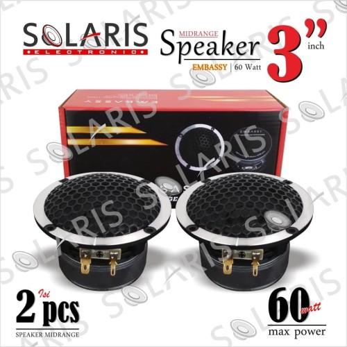 Foto Produk SPEAKER 3 Inch MIDRANGE EMBASSY dari Solaris Electronic