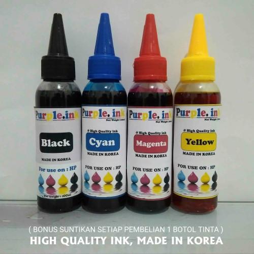 Foto Produk Tinta isi ulang / Refill untuk printer HP ( isi 100ml ) dari KENANGA-COM