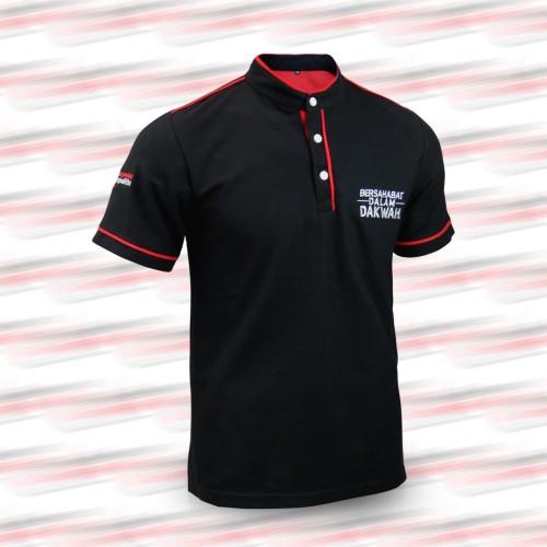 Foto Produk Masyarakat Tanpa Riba | Kaos Polo Shirt | Sanghai | Wangki BDD Hitam - L dari Masyarakat Tanpa Riba