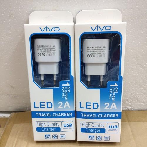 Foto Produk Charger casan vivo usb micro 2.1A LED dari vivan cell