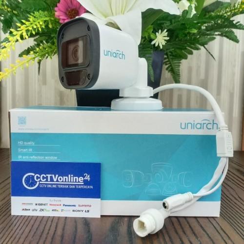 Foto Produk Uniarch IP Kamera Outdoor 2MP Fixed Dome IPC-B112-PF40 dari CCTVonline24