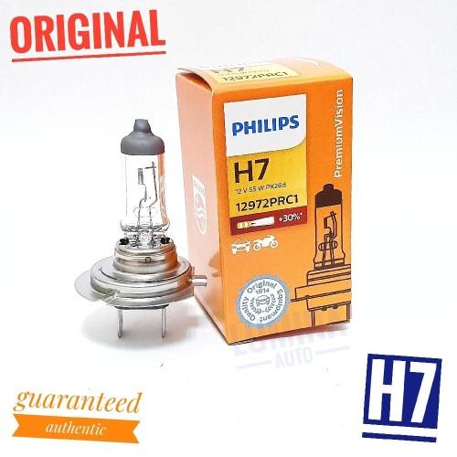 Jual Philips Premium Vision H7 55w 30 Lebih Terang Lampu Mobil Motor Jakarta Pusat Lumina Auto Tokopedia