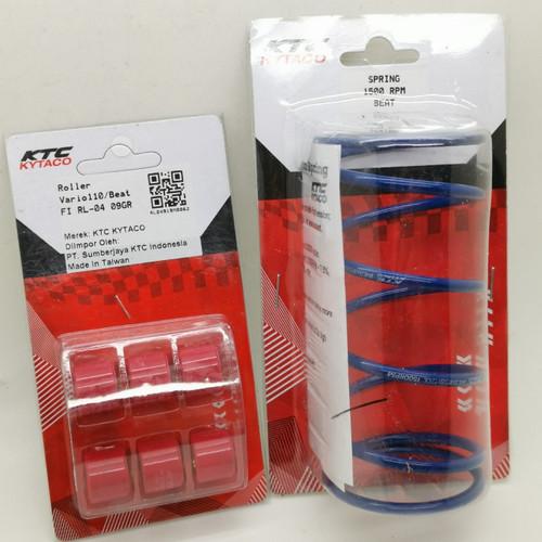 Foto Produk Paket Roller Per CVT Beat FI Scoopy Spacy Vario FI KTC Racing dari Lestari Motor 2