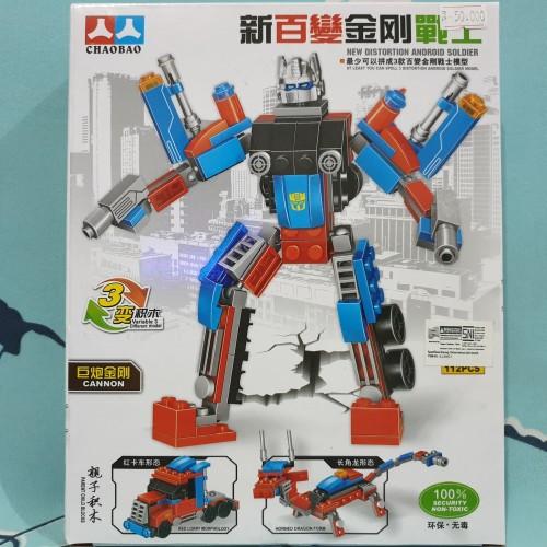 Foto Produk lego robot transformers 3 in 1 mainan lego robot dari Howell toys