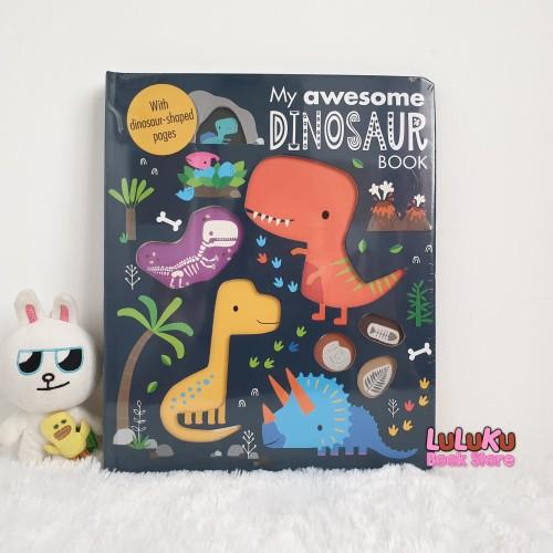 Foto Produk Buku Anak Import Edukasi Dino - My Awesome Dinosaur Book dari LuLuKu Book Store