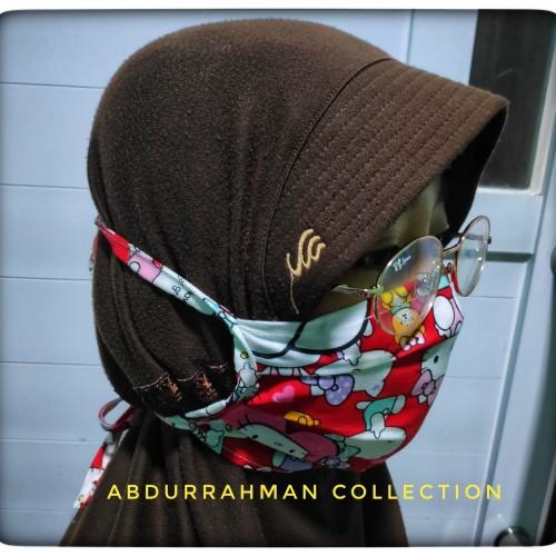 Foto Produk MASKER KAIN BAHAN KATUN MODEL IKAT dari Abdurrahman Collection
