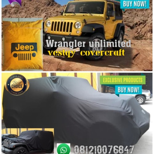 Foto Produk cover mobil / sarung mobil jeep rubicon wrangler sahara unlimited dari vestqy covercraft