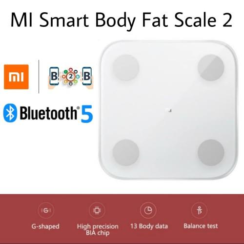 Foto Produk XIAOMI MI Smart Scale 2 - Body Fat Composition Scale 2 Timbangan Badan - CHINA VERSION dari b2b mobile