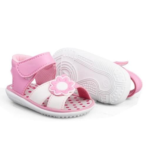 Foto Produk C16 sepatu sanda anak bayi perempuan usia 1 2 3 tahun terbaru bunyi - PINK, 23 dari Syalu Shoes