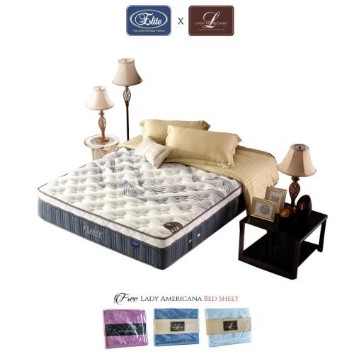 Foto Produk Kasur Classy Elite New Edition (Mattress Only) - 100 x 200 dari Elite Springbed
