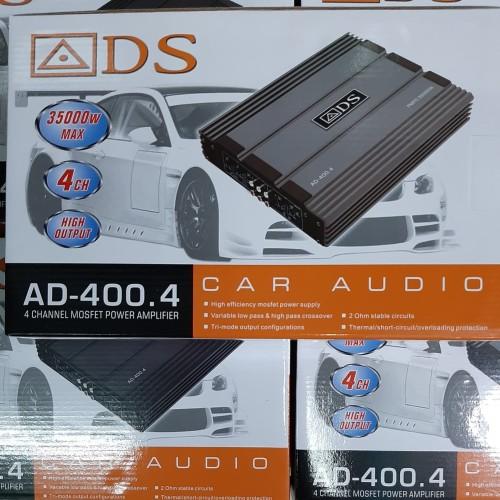 Foto Produk Power 4 Chanel atau Amplifier Audio Mobil merk ADS AD-405 dari Caraudio