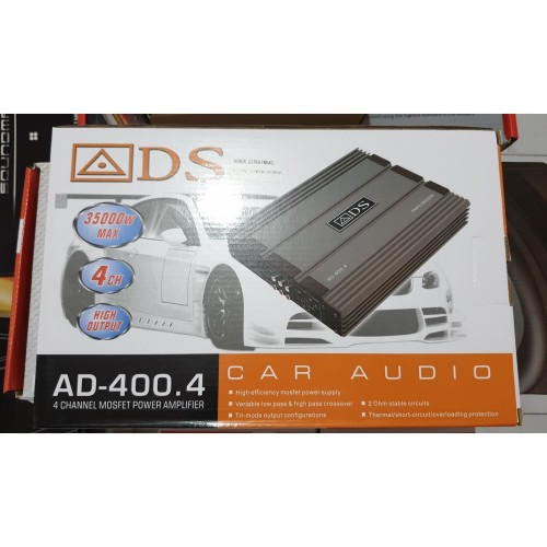Foto Produk POWER 4 CHANNEL ADS 400.4 dari DUTA AUDIO