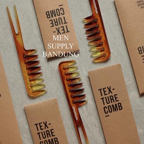 Foto Produk NO BAD HAIR Texture Comb / Styling Comb / Sisir Tekstur dari Men Supply Bandung