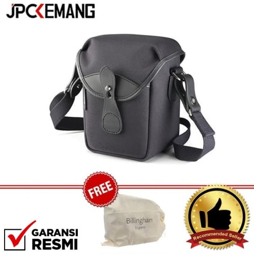Foto Produk Billingham 72 Small Camera Bag (Black FibreNyte/Black Leather) dari JPCKemang