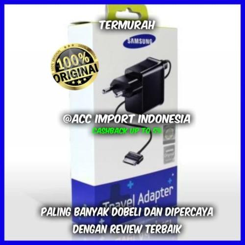 Foto Produk charger samsung galaxy P1000 tab 1 2 7 7,7 8,9 Note 10,1 original 100% dari ACC Import Indonesia