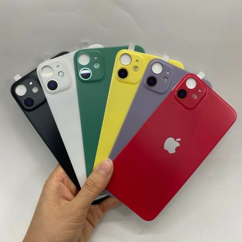 Foto Produk Back Door Sticker iPhone XR fake iPhone 11 Back Body Cover Protector - Putih dari Paulsgrave Studio