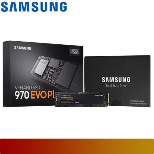 Foto Produk SSD SAMSUNG - SSD 970 EVO PLUS NVME M.2 500GB MZ-V7S500B/AM PCIe Gen3 dari Nano Komputer
