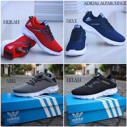 Foto Produk sepatu sport pria adidas alpabounce termurah jogging outdoor - Hitam, 39 dari SEPATU SAFETY TACTICAL