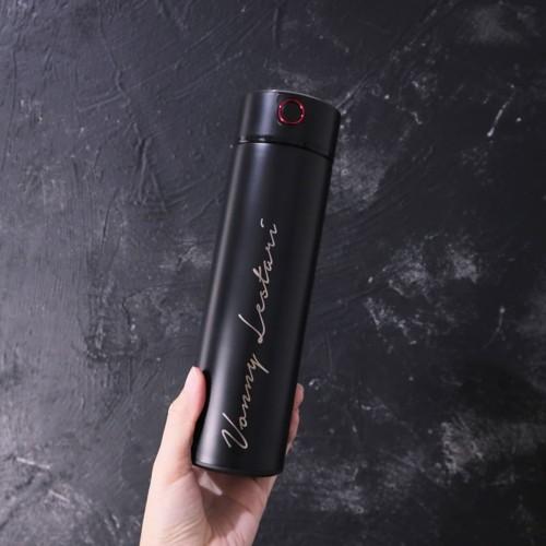Foto Produk Grafir Nama   Dakota Custom Vacuum Tumbler   Termos Stainless Steel - Bronze, Grafir 1 Sisi dari Otello Laser Cut