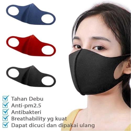 Foto Produk Masker Scuba Masker Wajah Anti Debu - Hijau Army dari AnerStore