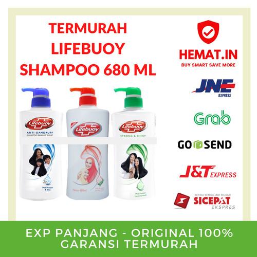 Foto Produk LIFEBUOY SHAMPOO 680 ML PUMP POMPA JUMBO ORIGINAL EXP PANJANG - Merah dari Hemat Indonesia