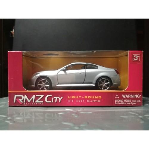 Foto Produk Diecast RMZ City (Sound & Light) Infiniti G37 - Silver - Skala 32 dari YDIECKINS