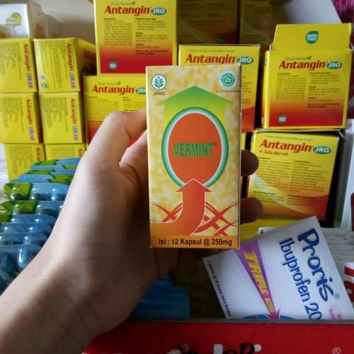 Foto Produk Vermint 12 kapsul dari Berkah Toko obat