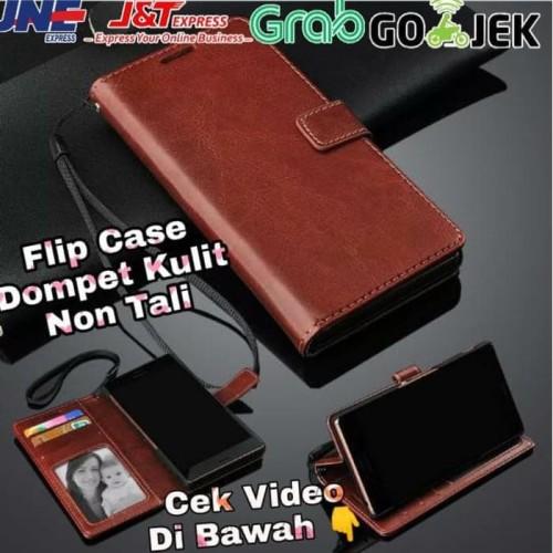 Foto Produk FLIP WALLET KULIT OPPO A5 2020 dari Grosir Murah AccHp
