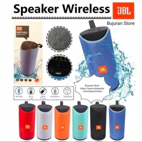 Foto Produk Speaker Bluetooth JBL TG-113 by HARMAN, PORTABLE Wireless MEGA BASS dari bujuran store
