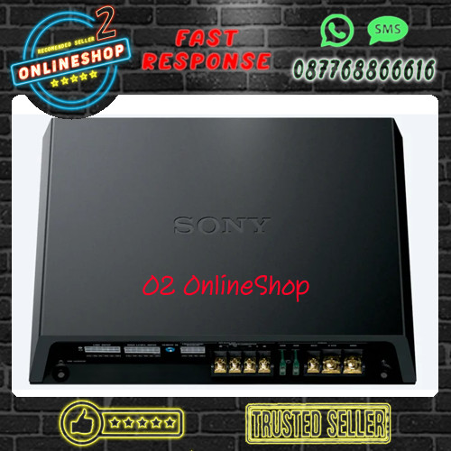 Foto Produk SONY DSP 6 channel Sony XM-GS6DSP Amplifier Class D Dsp 6ch dari O2 OnlineShop