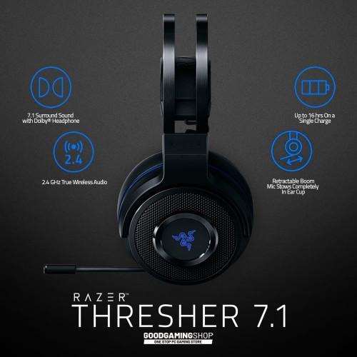 Foto Produk Razer Thresher 7.1 for PS4 - Wireless Gaming Headset dari GOODGAMINGM2M