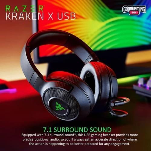 Foto Produk Razer Kraken X USB - Gaming Headset dari Goodgamingshop